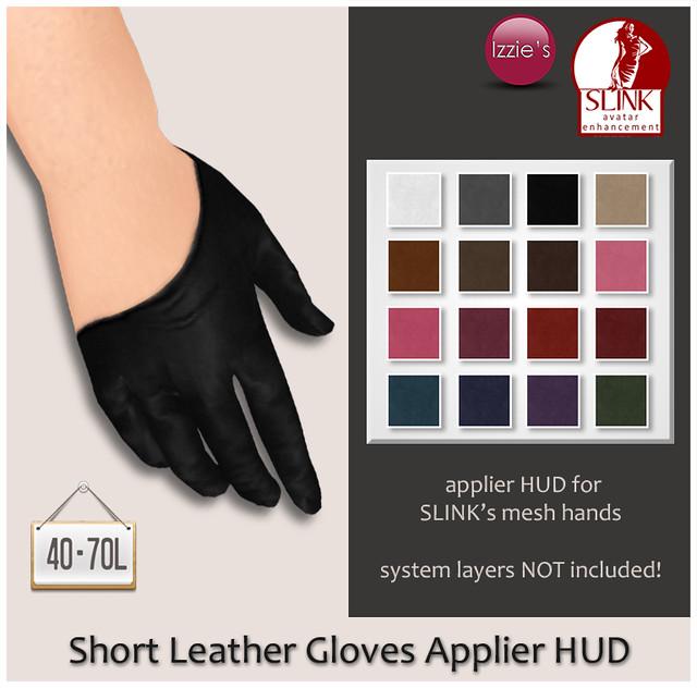TDRF (Short Leather Gloves Applier HUD)