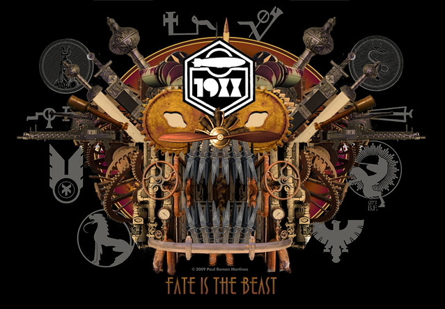 Fate is the Beast by Paul Roman Martinez