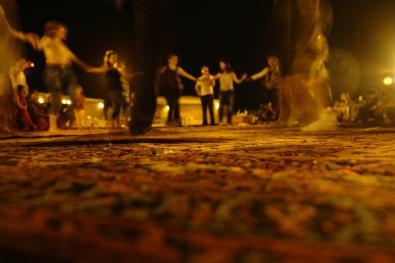 Fiesta en el desierto