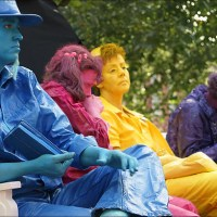 Waiting for World Statues