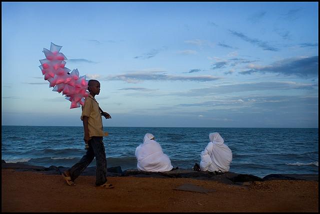 Two woman   Pondicherry