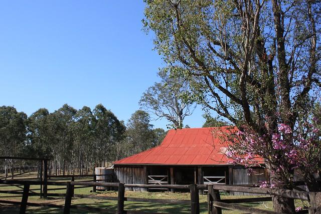 Taromeo Station stables, built 1854.
