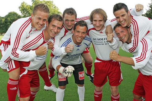2009-07-23 SC Brunn - Schmidt - Maucha - Koch - Prcek - Haselmayer - Lämmermayer - Hofecker 0002