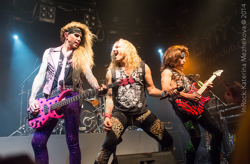 Steel Panther in Moscow