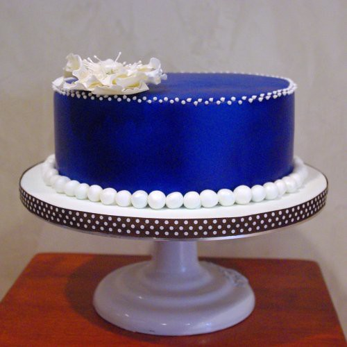 Denim Amp Pearls Birthday Cake Nicole Mcgarry Flickr