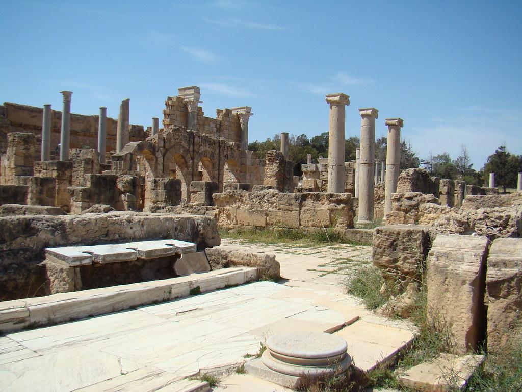 Letrinas Leptis Magna Libia 02