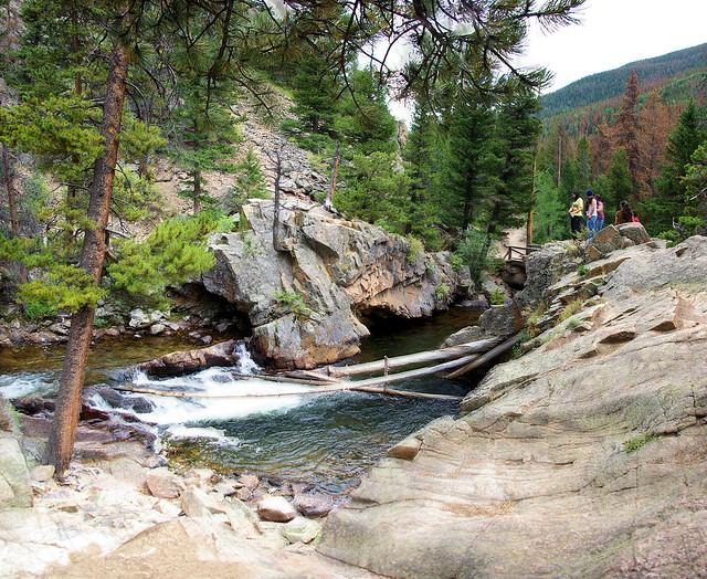 The Pool, Fern Lake Trail, Rocky Mountain National Park, September 6, 2009