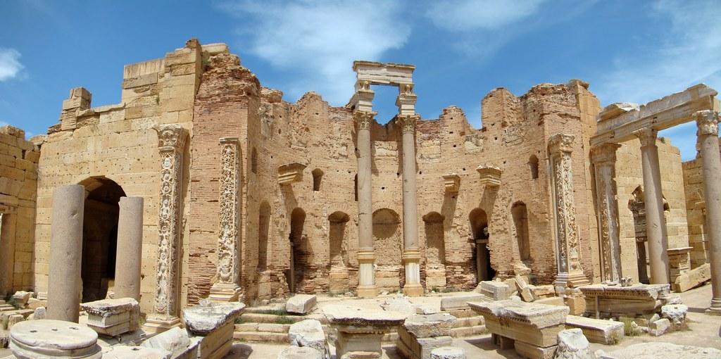 Basilica Septimio Severo Leptis Magna Libia 07