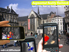 Augmented Reality flashmob