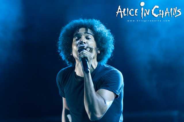 Alice in Chains frontman William DuVall - Singapore Rock Fest 2014