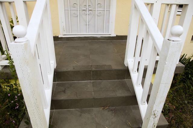 Front Step Damages