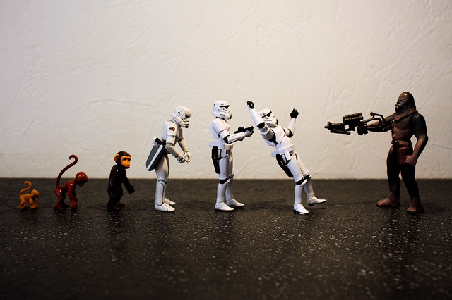 A Theory of Evolution (of the Stormtrooper)