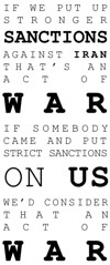 Ron Paul on sanctions