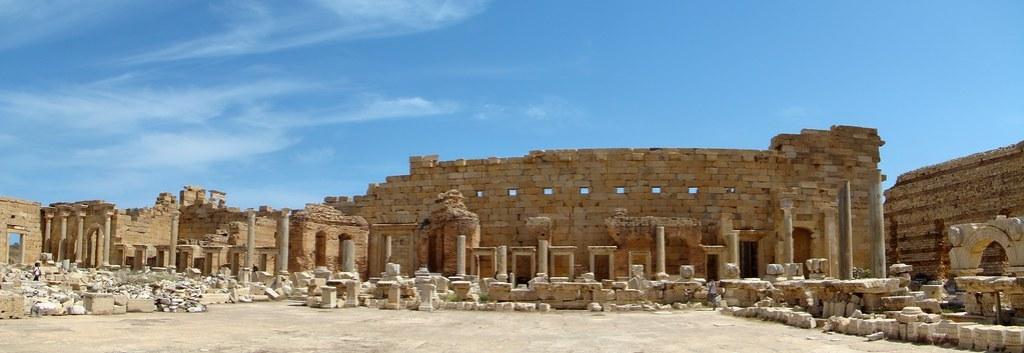Leptis Magna teatro romano Libia 04