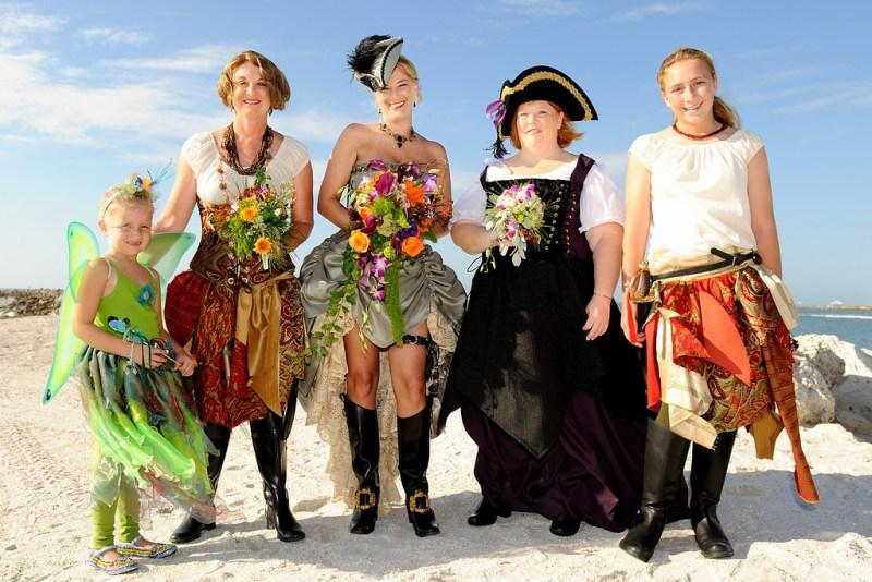 SnM Pirate Wedding 081