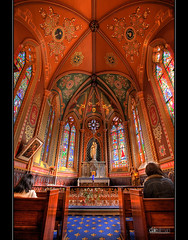 Ladye Chapel, St Francis' Church - HDR by Dale Allman