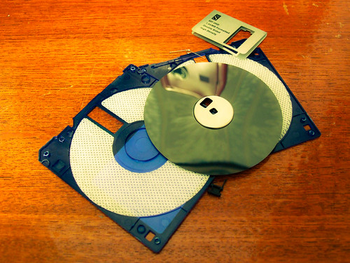 Death of the floppy disk (42/365) by Rob Hayes., on Flickr