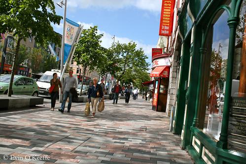 Sunshine on The Grand Parade, Cork City