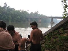 Chengannur river bath 1