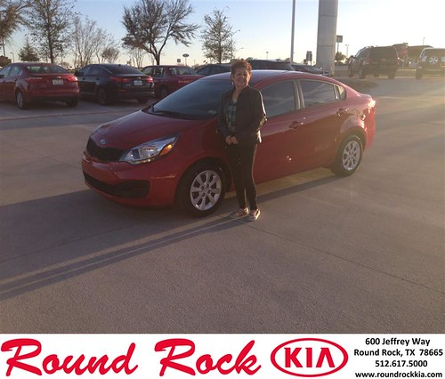 Congratulations to Janie Ochoa on your #Kia #Rio purchase from Jorge Benavides at Round Rock Kia! #NewCar by RoundRockKia