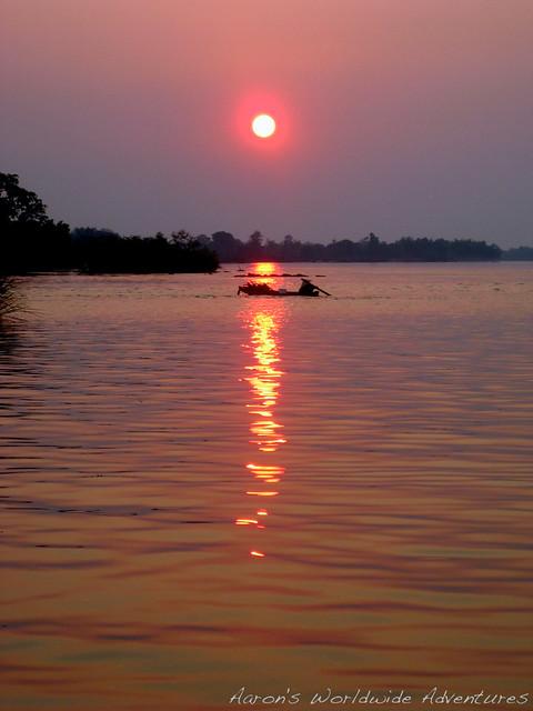 Sunset on Don Det