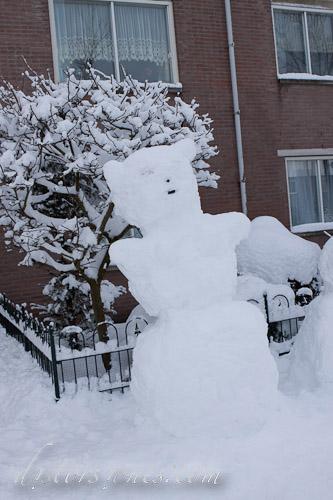 El monstruo de nieve