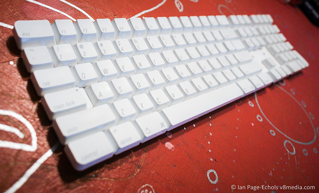 Partially Disassembled Apple USB Keyboard