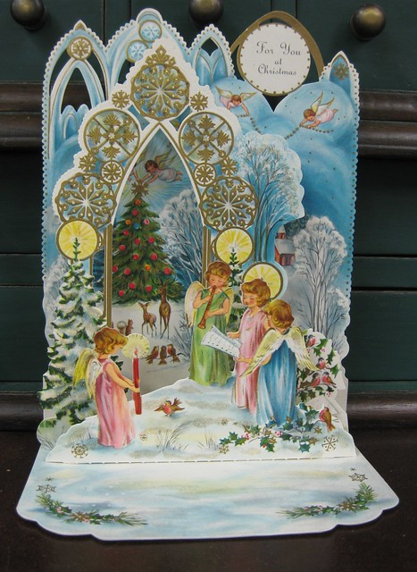 Vintage Hallmark Pop Up Christmas Card Flickr Photo