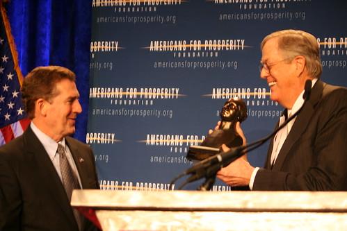 Sen. Jim DeMint and David Koch