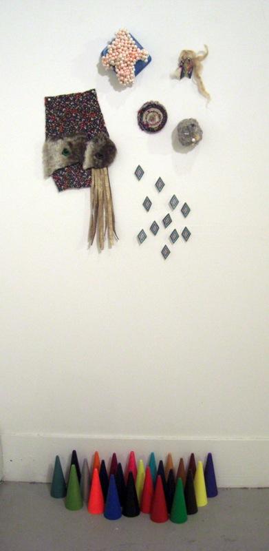 untitled (watcher with mementos)