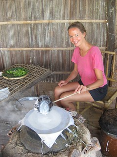 Annie Making Rice Paper