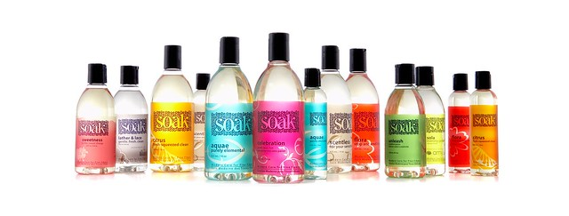 Soak bottles staggered