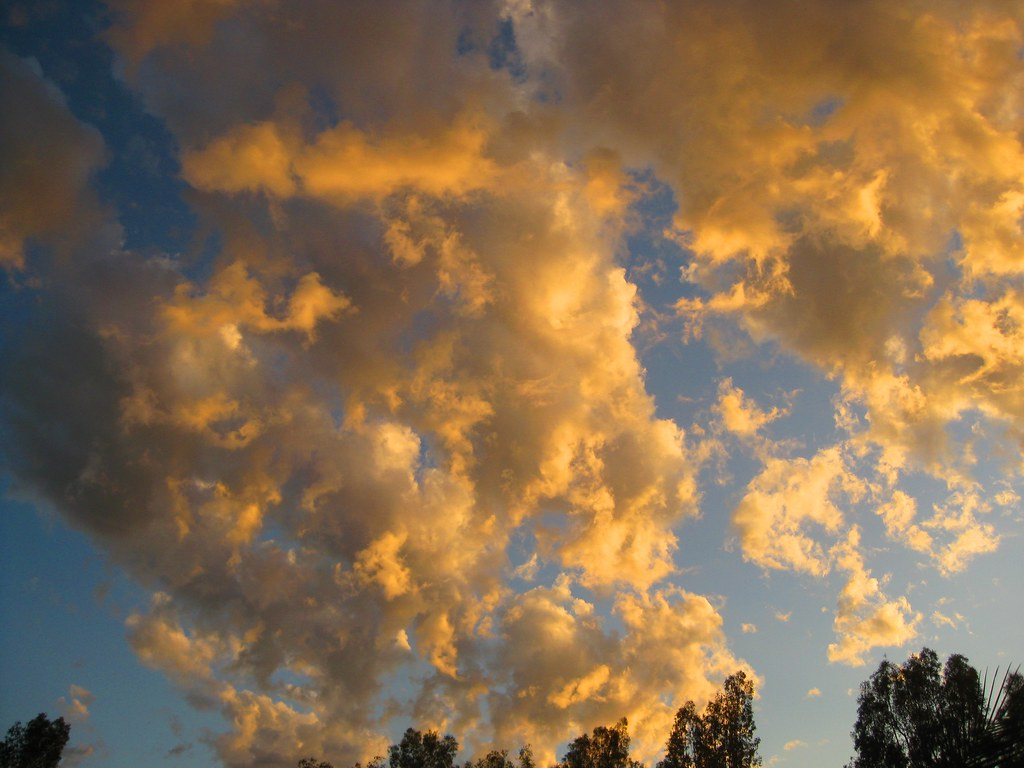 Maxfield Parrish Sky