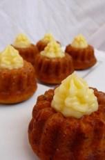 Baby Lemon Bundt Cakes