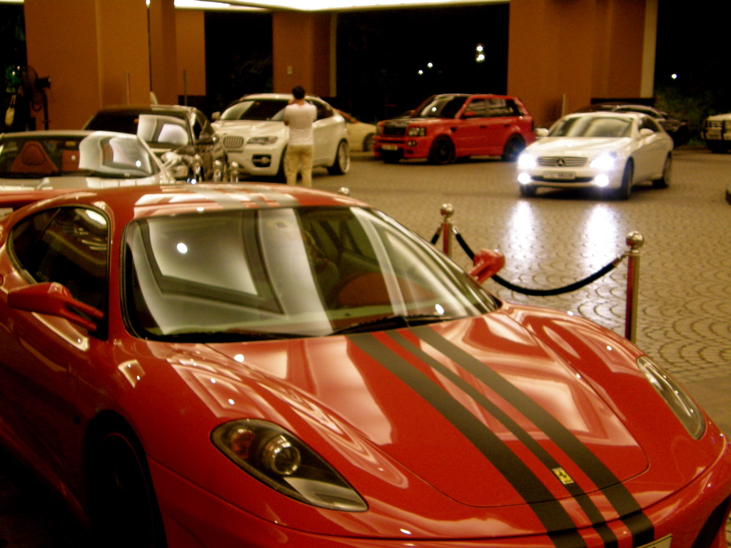 Fancy Cars Outside Mall of Emirates