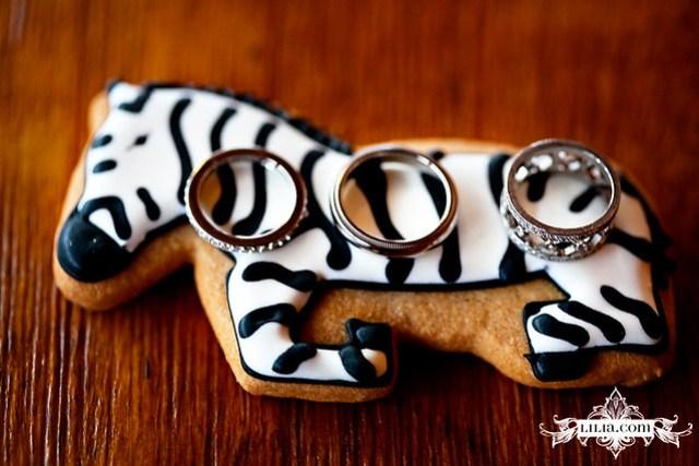 SF Zoo Wedding: Wedding Favor & Rings