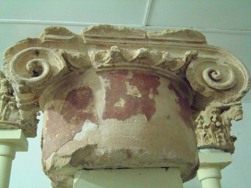 Ptolomais Museo capitel Libia 19