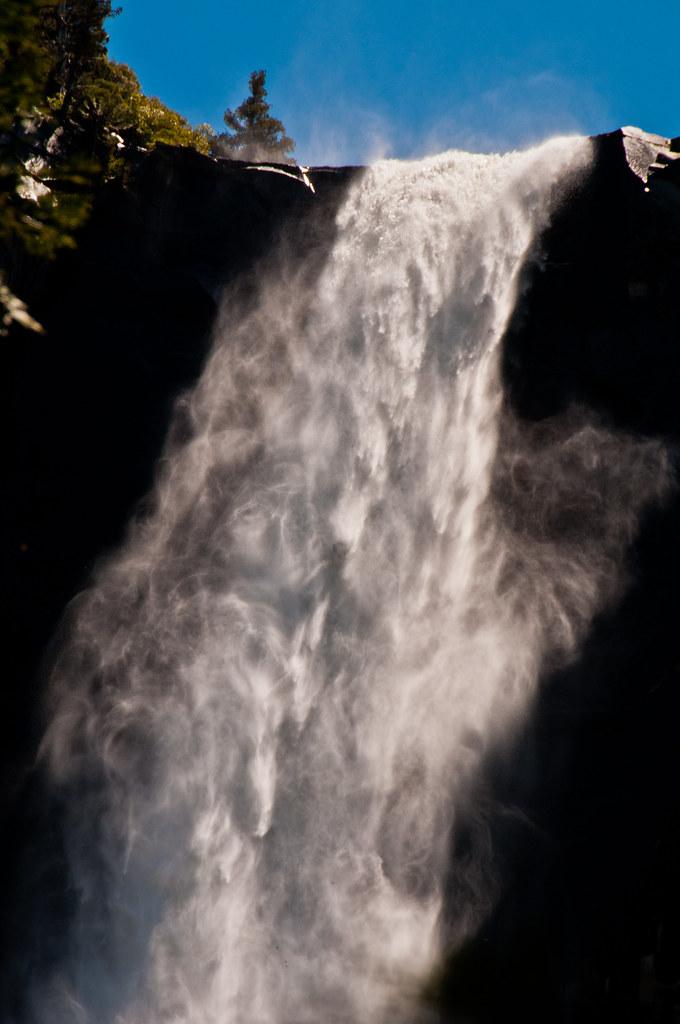 The Bridalveil Waterfall, Yosemite