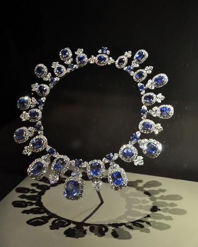 Sapphire and Diamond Collar