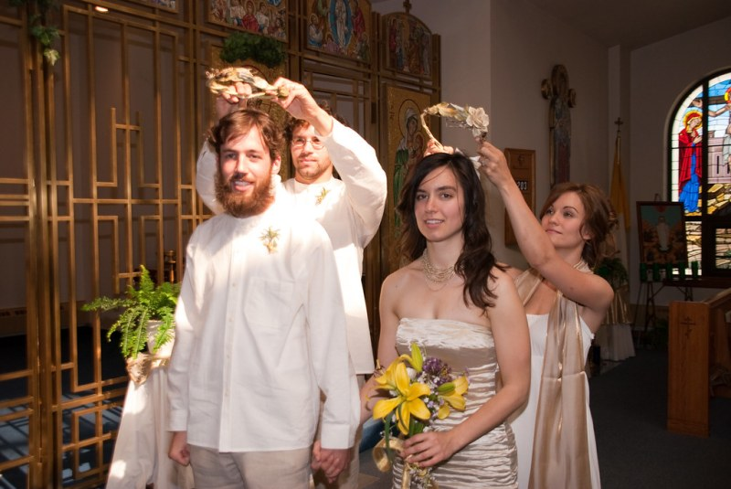 The crowning ceremony