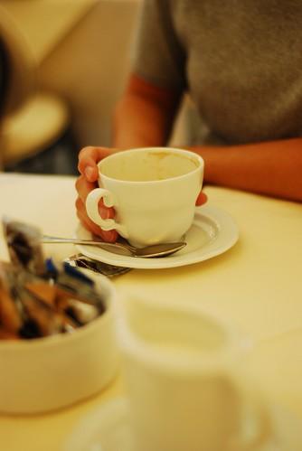 One coffee?