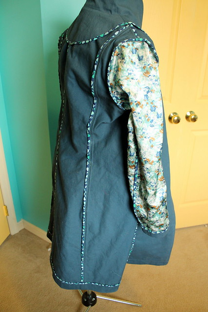 Robson coat inside