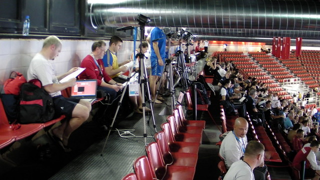 A forest of cameras at Istanbul 2009