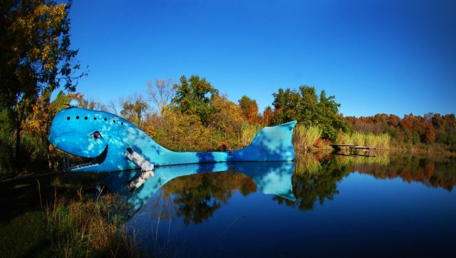 The Blue Wale in Catoosa, Oaklahoma, on Route 66