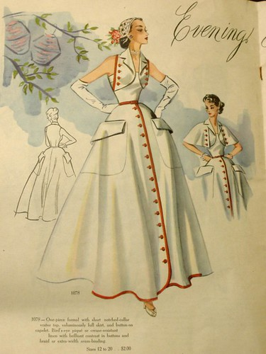 modes royale dress 1078, spr sum 1952