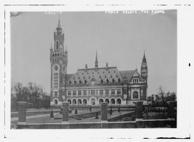 Peace Palace - the Hague  (LOC)