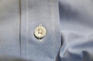 Shirt Button - closeup