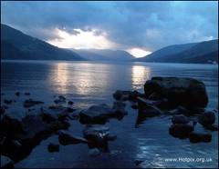 Loch Earn Winter Sunset, Scotland