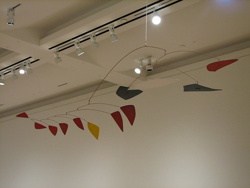 SFMoMA - Alexander Calder Lone Yellow, 1961