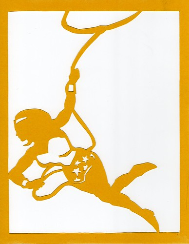 Wonder Woman papercut